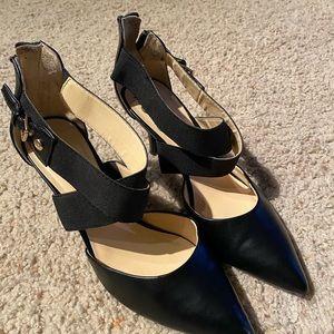 Black Liz Claiborne heels